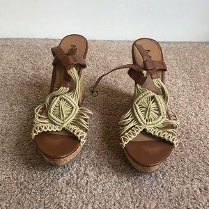 MIA summer wedge heel